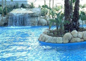 Outdoor Swimming Pool Magic Atrium Beach Apartments