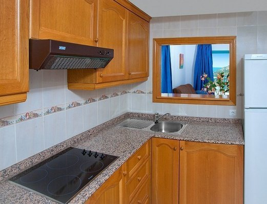 Separate kitchen Magic Atrium Beach Apartments