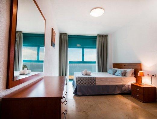 Bedroom Magic Atrium Beach Apartments